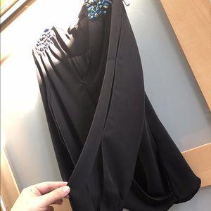 Guess Sequin black silk shirt Small